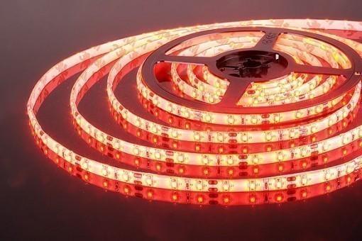 Лента светодиодная TDM Electric SMD-5050-60Led (IP20, красная) - 1 м