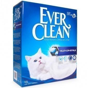 Наполнитель кошачьего туалета Ever Clean Multi Crystals (глиняный, 10,0 кг, 10 л, без запаха)