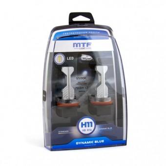 Светодиодные лампы MTF Dynamiс Blue H11 (5500K)