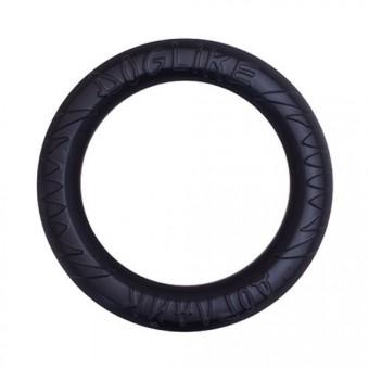 Игрушка DogLike Кольцо восьмигранное (черное, диаметр 26,5 см)