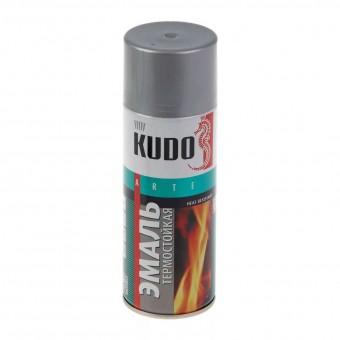 """Краска-спрей """"KUDO"""" KU-5001 термостойкая Серебро (520мл) аэрозоль"""