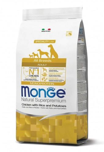 Сухой корм для собак Monge Specialty Line - Adult Chicken (2,5 кг)