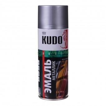 "Краска-спрей ""KUDO"" KU-1027 стандарт Хром (520мл) аэрозоль"