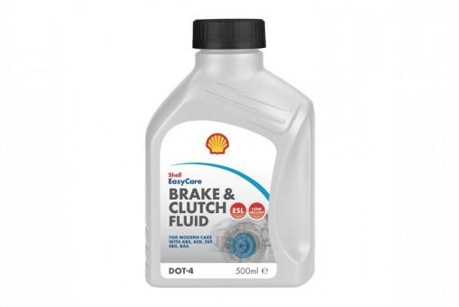 Тормозная жидкость Shell DOT4 (0,5 л)