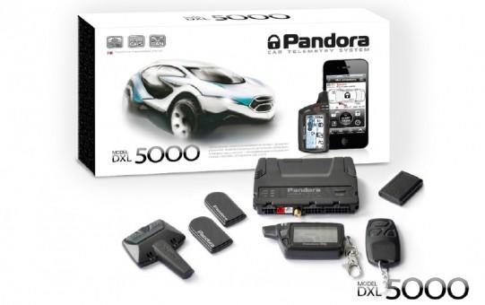 Автосигнализация Pandora DXL 5000 new (а/з)