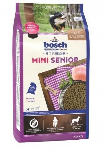 Сухой корм для собак Bosch Mini Senior, 1 кг