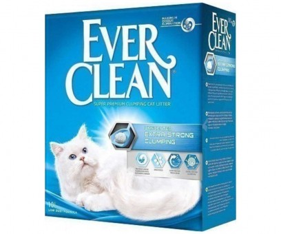Наполнитель кошачьего туалета Ever Clean Extra Strong Clumping Unscented (бентонит, 10 кг, 10 л, без запаха)