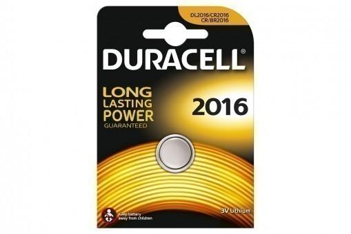 Батарейка CR2016 Duracell (блистер, 1 шт)