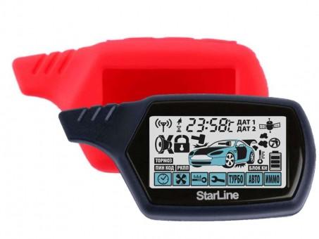 Чехол силиконовый Старлайн A91/B9 (красный)