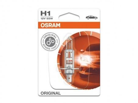 Лампа Osram H1 Original (12 В, 55 Вт, блистер)