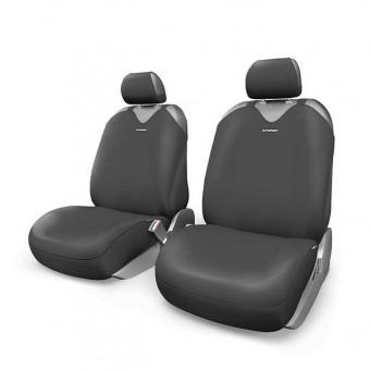 Чехлы-майки Автопрофи R-1 Sport Plus (комплект) - черные