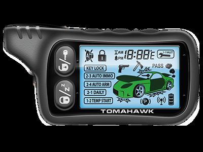Брелок для а/с Tomahawk TZ-9020/9030/7010 (ж/к)