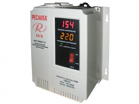 Стабилизатор напряжения Ресанта Lux АСН-1000Н/1-Ц