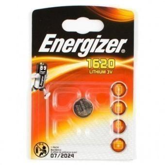 Батарейка CR1620 Energizer Lithium (блистер, 1 шт)