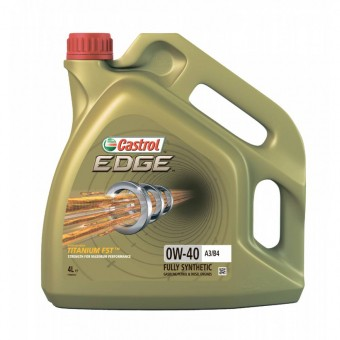 Масло моторное Castrol Edge 0W-40 A3/B4 (4 л)