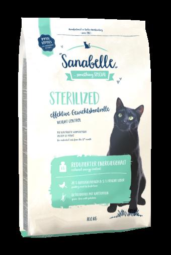 Сухой корм для кошек Sanabelle Sterilized NEW,10 кг
