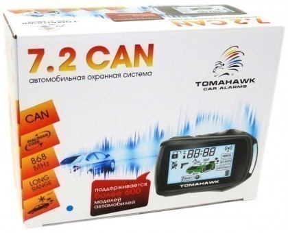 Автосигнализация Tomahawk 7.2 Dialog CAN (об/с)