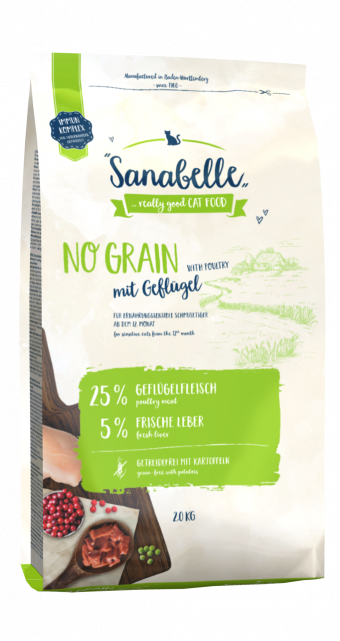 Сухой корм для кошек Sanabelle No Grain (2 кг)