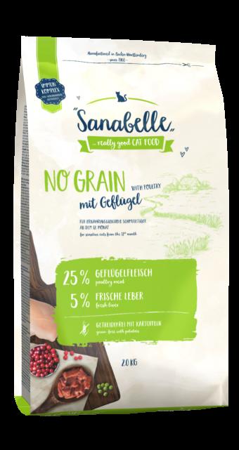 Сухой корм для кошек Sanabelle No Grain NEW, 2 кг