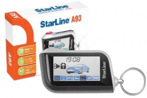 Брелок для а/с StarLine A93/А63 (ж/к, ОРИГИНАЛ)