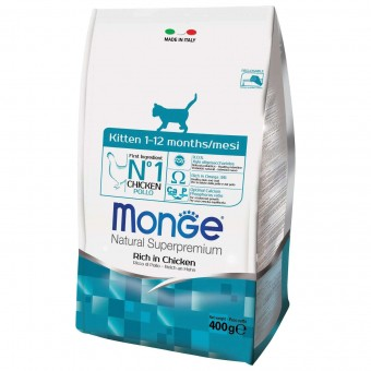 Сухой корм для котят Monge Daily Line - Kitten (400 г)