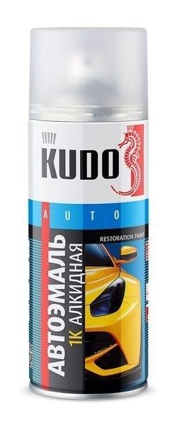 """Краска-спрей """"KUDO"""" KU-4034 Черная 601 (520мл) аэрозоль"""