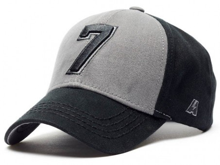 Бейсболка КХЛ №7, черн.-сер., р.55-58, арт.106680