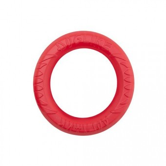 Игрушка DogLike Кольцо восьмигранное (коралловое, диаметр 16,5 см)