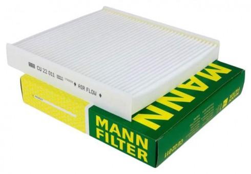 Фильтр салонный MANN-FILTER CU 22 011