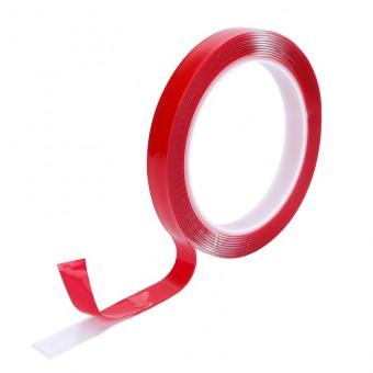 Скотч двусторонний силиконовый 4 мм х 2 м (прозрачный)