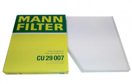 Фильтр салонный MANN-FILTER CU 29 007