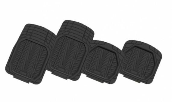 Коврики салонные универсальные Автопилот HX6011 (черные, 4 шт)