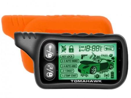 Чехол силиконовый Tomahawk TZ-9020/9030 (оранжевый)
