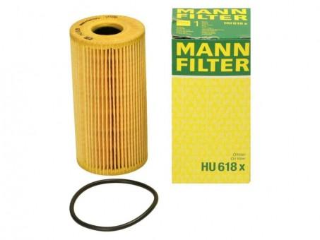 Фильтр масляный MANN-FILTER HU 618 x