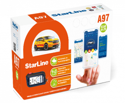 Автосигнализация StarLine A97 3CAN+4LIN (а/з)