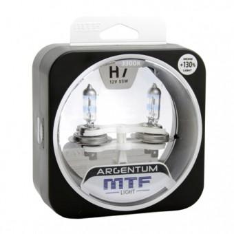 Лампы MTF Argentum +130% H7 (12 V, 55 W, 2 шт)