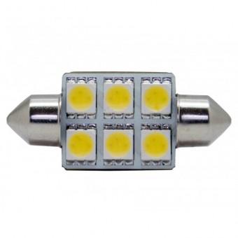 Светодиодная лампа MTF C5W36 SV (5000К, белая)