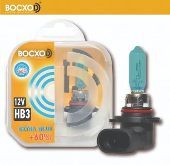 Автолампа BOCXOD HB3 Extra Blue (60W, 12V, 80903 EB, +60%)
