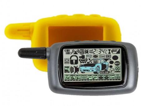 Чехол силиконовый Старлайн A8/A9 (желтый)