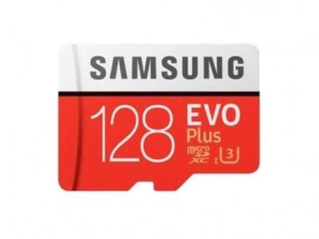 Карта памяти microSD Samsung EvoPlus2 128 Gb (class 10, U3)
