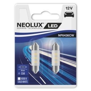 Светодиодные лампы Neolux C5W36 (6000К, 2 шт)