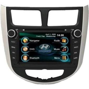 Головное устройство Hyundai Solaris - Intro CHR-2211