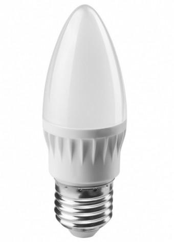 Лампа Онлайт OLL-C37-10-230-6.5K-E27-FR (800 Лм, свеча)