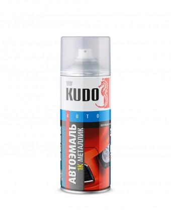 "Краска-спрей ""KUDO"" KU-41640 металлик Серебристая 640 (520мл) аэрозоль"
