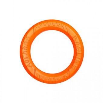 Игрушка DogLike Кольцо восьмигранное (оранжевое, диаметр 16,5 см)