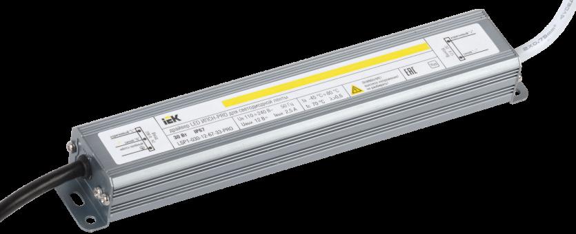 Блок питания IEK (30W, IP67, влагозащищенный)