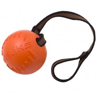 Игрушка DogLike Мяч с лентой (оранжевый, диаметр 10,0 см)