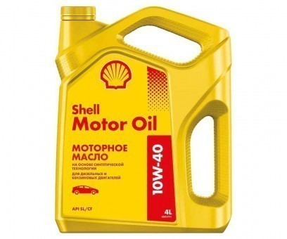 Масло моторное Shell Motor Oil 10W40 (4 л)
