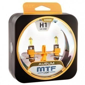 Лампы MTF Aurum H1 (12 V, 55 W, 2 шт)