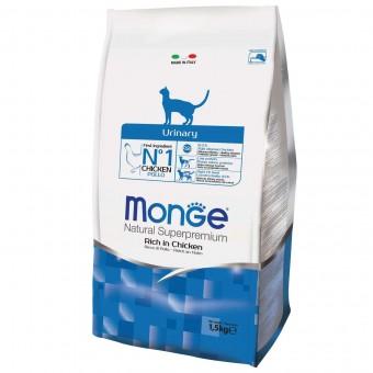 Сухой корм для кошек Monge Daily Line - Urinary (1,5 кг)